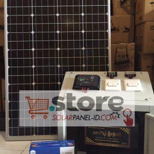 jual paket solar panel surya shs 50wp