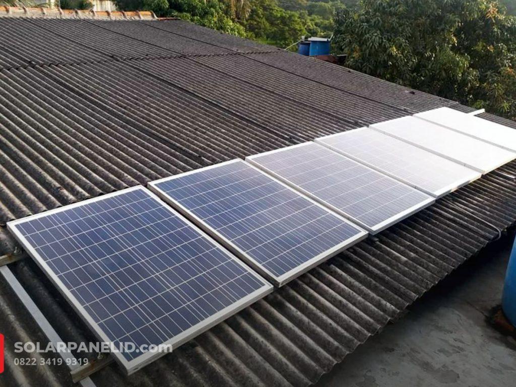 jual solar panel bergaransi terbaru 2021