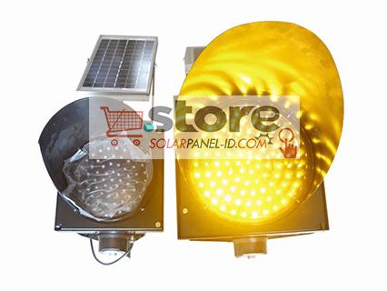 jual solar traffic light tenaga surya