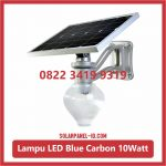 Solar Light Blue Carbon Techno 10W