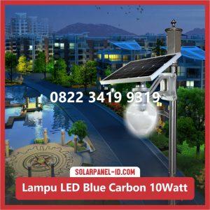 Jual Lampu Taman Tenaga Surya Blue Carbon 10watt