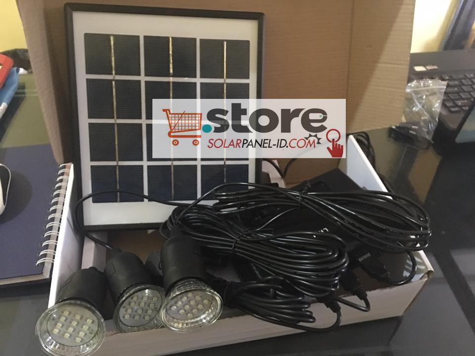 Harga Paket Solar Panel LK 4 Lightning System