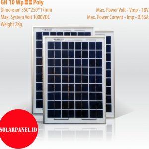 Jual Solar panel 10 wp poly