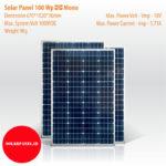 Solar Panel 100 Wp, Mono
