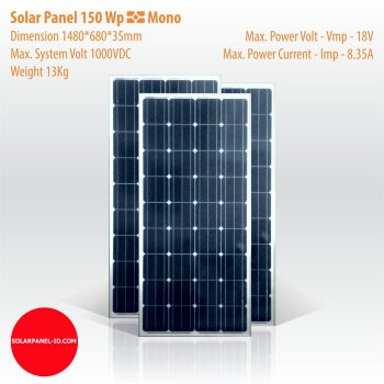 jual solarcell mono 150wp
