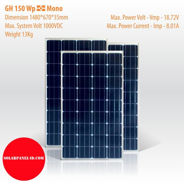 Solar Panel GH 150 Wp Mono