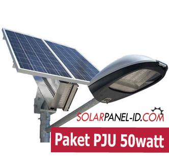 Jual Paket PJU Solarcell 50watt Terbaru 2021