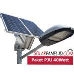 Jual Paket PJU Solar Cell 40Watt