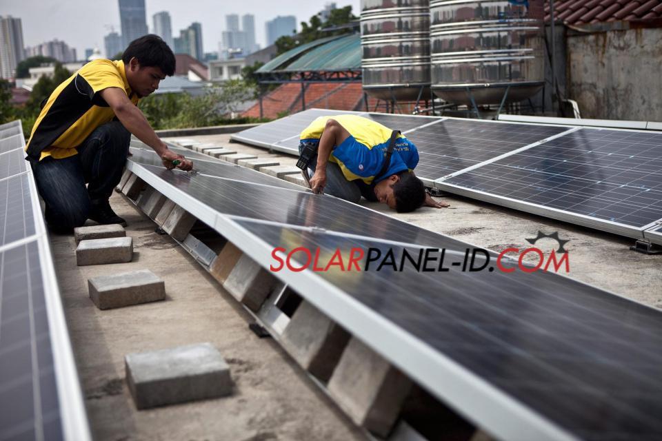 Jual Paket Solarcell Tenaga Surya Untuk Rumah 3000 Watt