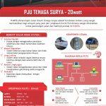 Harga Paket Lampu PJU Tenaga Surya Terbaru 2018