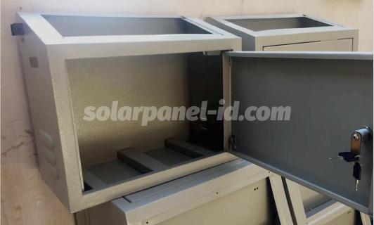 Box PJU Solarcell Powder Coating Single dan Double Aki Harga Termurah