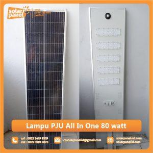 jual lampu pju all in one 80 watt murah