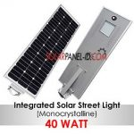 Lampu PJU All in One 40w | PJU Tenaga Surya All in one 40watt