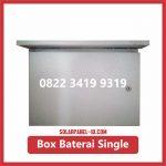 Box Baterai PJU Single Baterai Solarcell