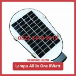 Lampu PJU Solarcell All In One Fatro 8watt