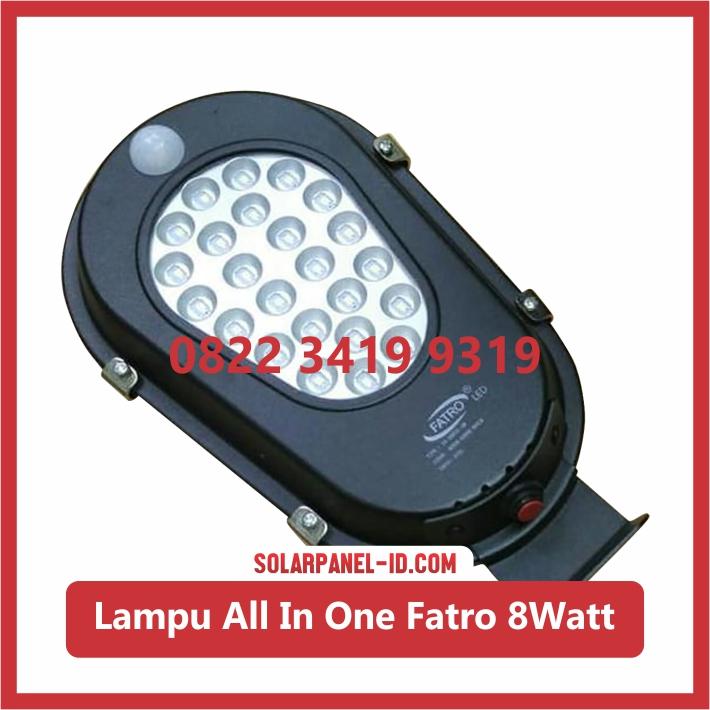 Lampu PJU AIO 8watt 2