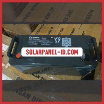 Panasonic baterai kering 12v 100Ah baterai solarcell