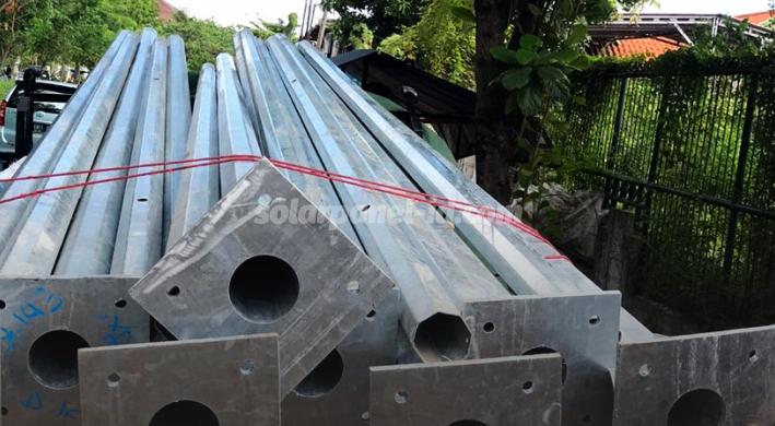 daftar harga tiang pju galvanis murah terbaru 2021