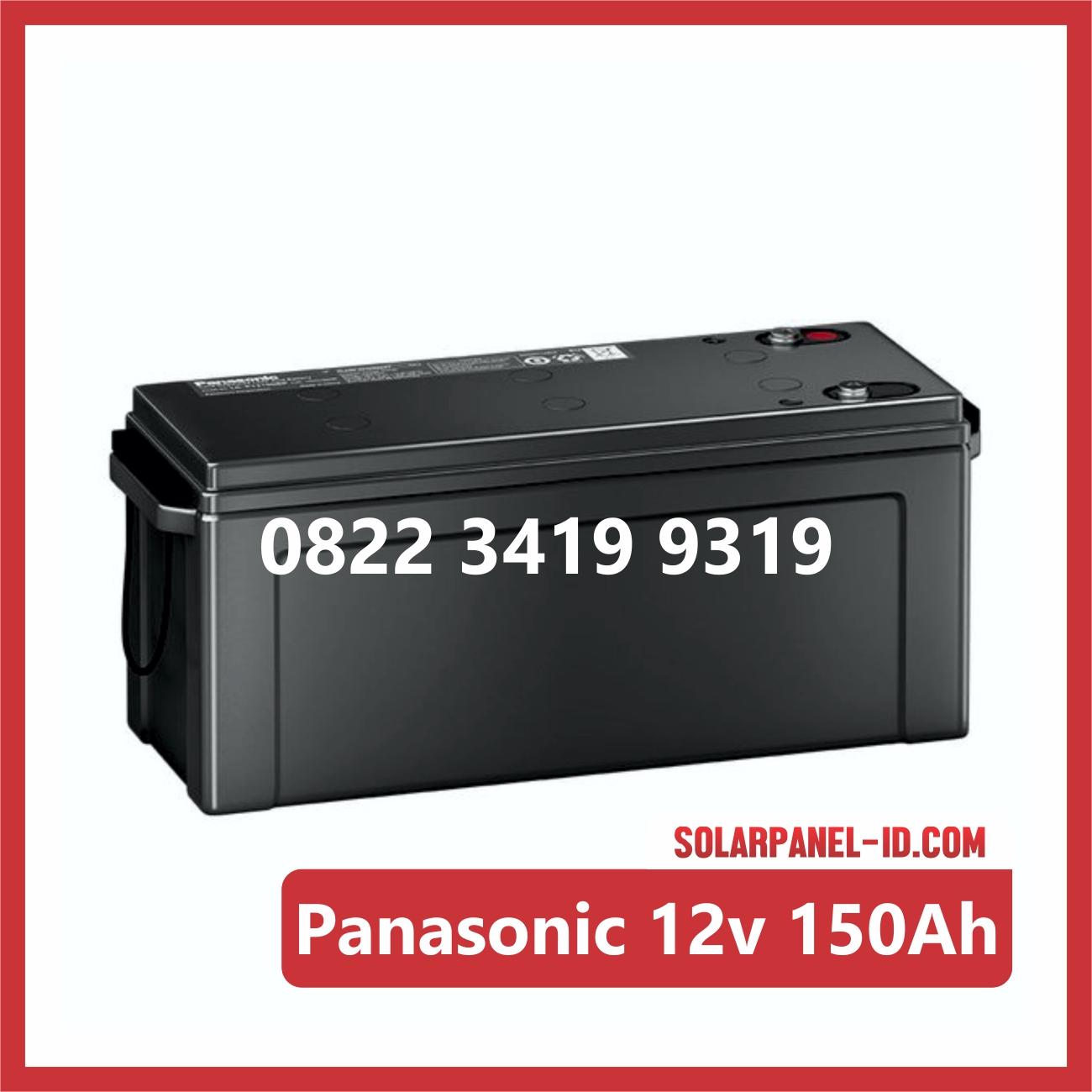 Aki Solar Cell Panasonic 12v 150Ah