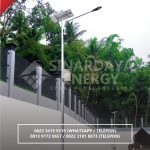 Harga Lampu Jalan Tenaga Surya Papua | Paket Lampu Jalan Tenaga Surya Termurah