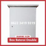 Box Baterai PJU Double Baterai Solarcell