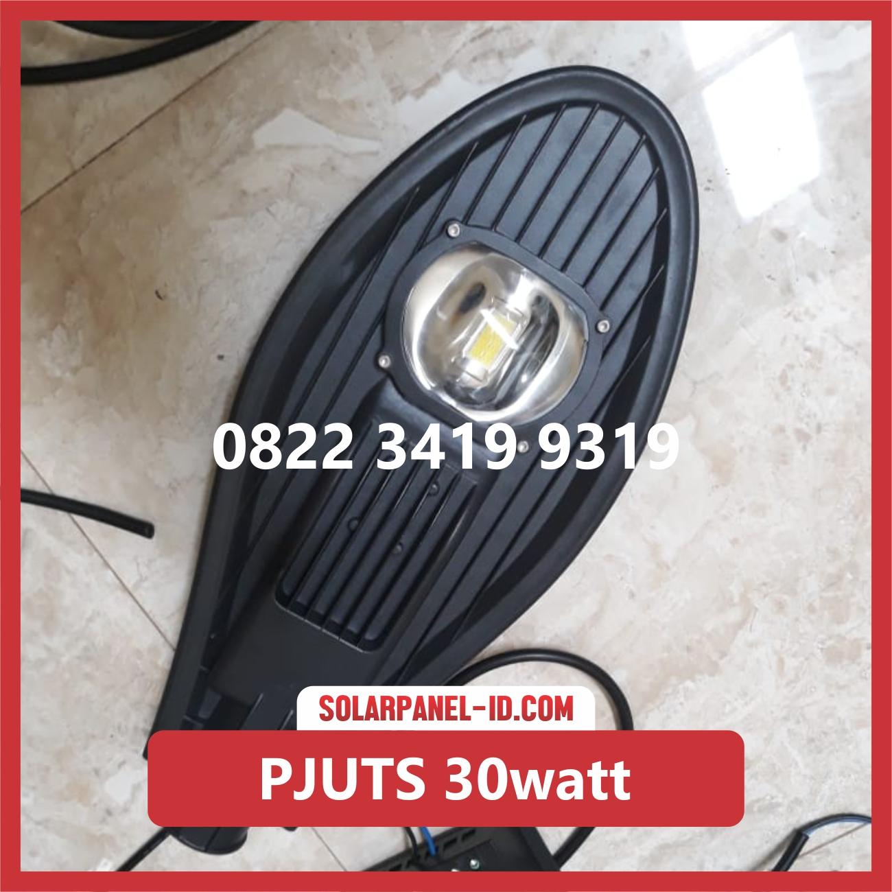 Jual Paket Lampu Jalan Tenaga Surya 30watt Pju Solarcell