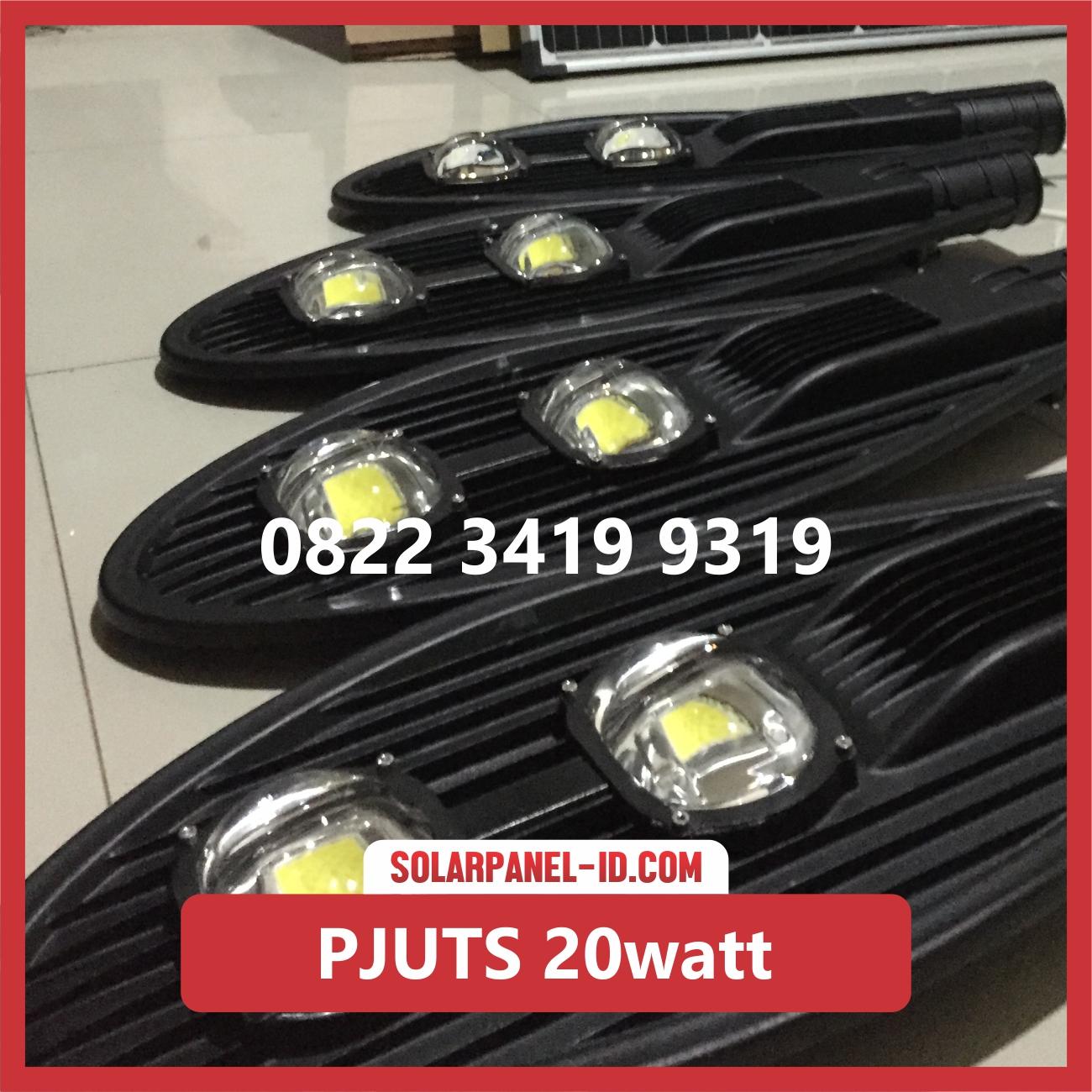 Jual Paket Lampu Jalan Tenaga Surya 20watt Pju Solarcell