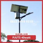 Paket Lampu Jalan Tenaga Surya 40watt – PJU Solarcell 40 watt | Penerangan Jalan Umum (PJU)