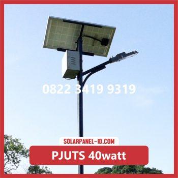 Paket PJU Tenaga Surya 40watt palu