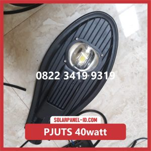 Paket PJU Tenaga Surya 40watt solar cell