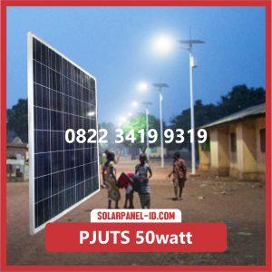 Paket PJU Tenaga Surya 50watt