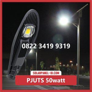 Paket PJU Tenaga Surya 50watt solar cell