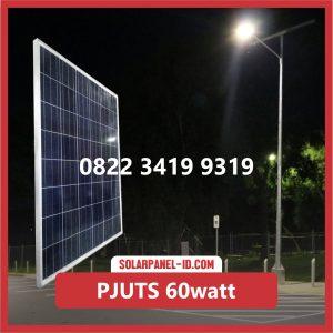 Paket PJU Tenaga Surya 60watt