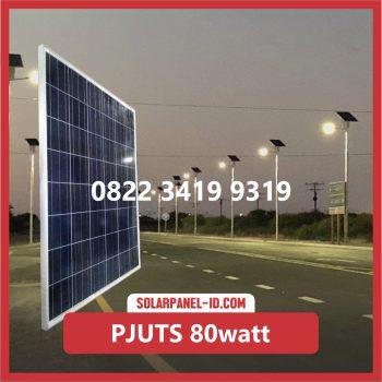 Paket PJU Tenaga Surya 80watt