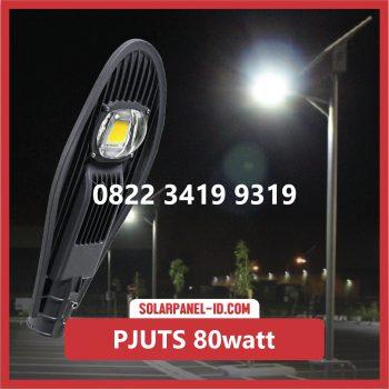 Paket PJU Tenaga Surya 80watt sumba