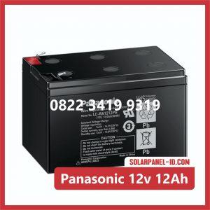 Panasonic baterai kering 12v 12Ah baterai ups