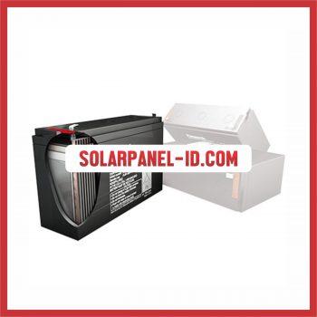 Panasonic baterai kering 12v 17Ah baterai emergency