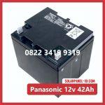Aki Solar Cell Panasonic 12v 42Ah