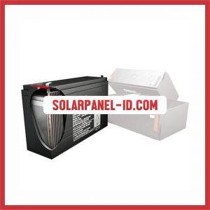 Panasonic baterai kering 12v 65Ah baterai solarcell