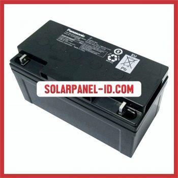 Panasonic baterai kering 12v 75ah baterai solarcell