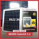 Paket Lampu SEHEN Solarkit Powerpack 5.2 | Paket SHS Tenaga Surya