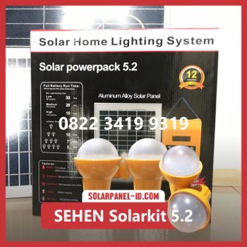 SEHEN Solarkit Powerpack 5.2 Solar Home System