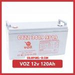 Aki Solar Cell VOZ 12v 120Ah