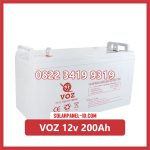 Aki Solar Cell VOZ 12v 200Ah
