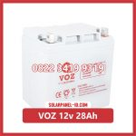 Aki Solar Cell VOZ 12v 28Ah