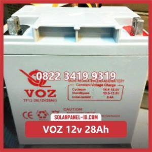 VOZ baterai kering 12v 28Ah baterai ups