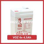 Aki Solar Cell VOZ 6v 4,5Ah