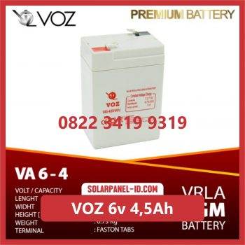 VOZ baterai kering 6v 4,5Ah surabaya