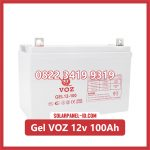 Aki Solar Cell Deep Cycle GEL VOZ 12v 100Ah