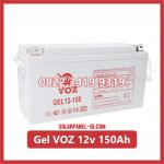 Aki Solar Cell Deep Cycle GEL VOZ 12v 150Ah